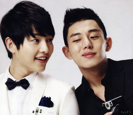 Yoo Ah In Sends Snack Truck To The Set Of Best Friend Song Joong Ki's Film