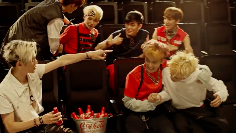 Watch: NCT 127 Drops Taste The Feeling MV For Coca-Cola Through SM STATION