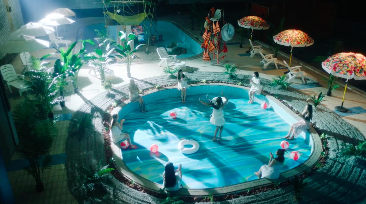 "Watch: Oh My Girl Creates Their Own Magical Beachy World In Teaser Video For ""A-ing"" MV"