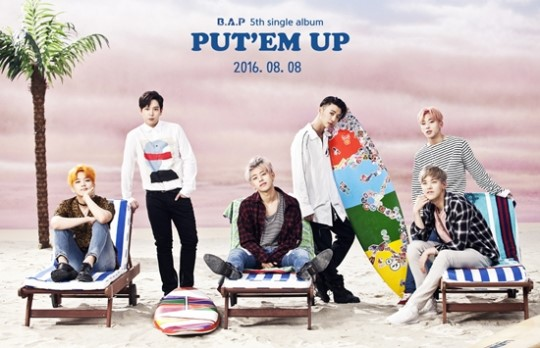 B.A.P Exhibits Teaser For New Summer Album