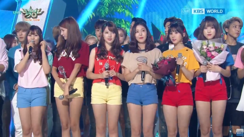 Watch: GFRIEND Gets 7th Win For Navillera On Music Bank
