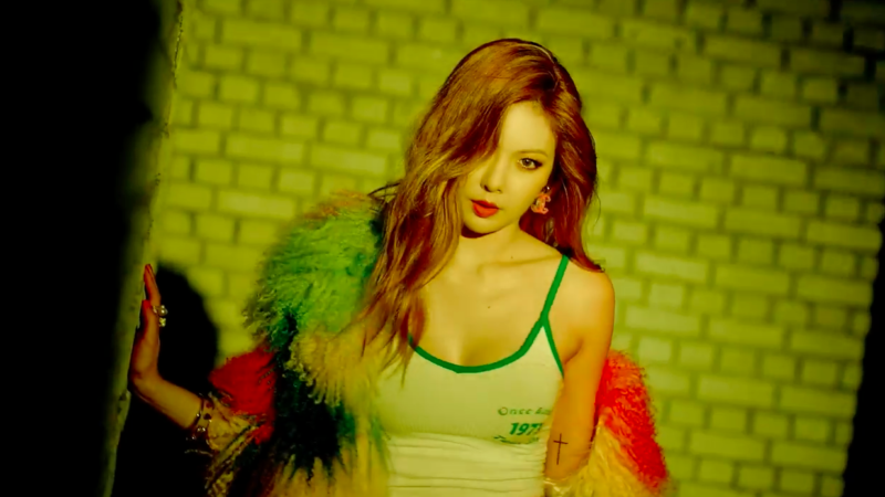 Update: HyunA Parties Hard In Teaser Videos For Comeback ...