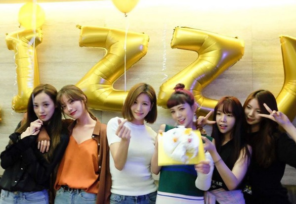 After Schools Lizzy Celebrates Her Birthday With Former And Recent Members