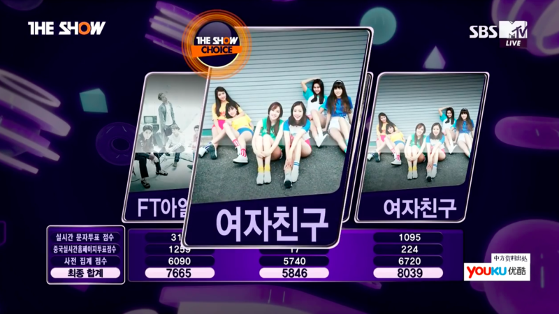 GFRIEND Grabs 9th Win For Navillera On The Show, Host Zhoumi Says Tearful Farewell
