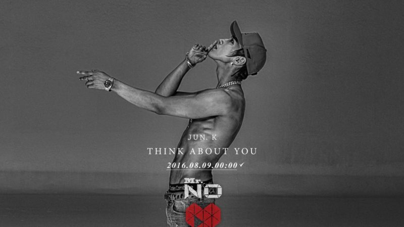 """Update: 2PM's Jun.K Drops Teaser Images For """"Think About You"""""""