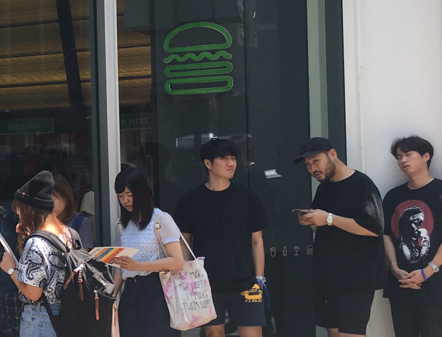 Epik High Waits In Line For Shake Shack And Theyre Essentially Dying