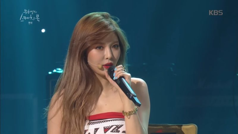 HyunA Opens Up About Talks Of Going Solo