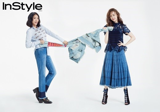 SISTARs Dasom And Bora Share OwnPointers On How To Wear Denim