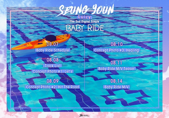 UNIQs Seungyoun Releases Schedule For Baby Ride Feat. BTOBs Hyunsik