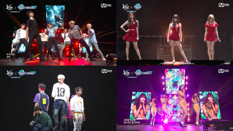 WATCH: BTS, SHINee, TTS, Block B, GFRIEND, And Many More Perform At KCON LA!