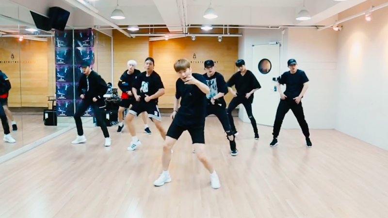 "Watch: MONSTA X Drops Dance Practice Video For ""Stuck"""