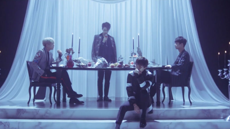 Watch: VIXX Rocks Their Dark Concept In Fantasy MV Teaser Video