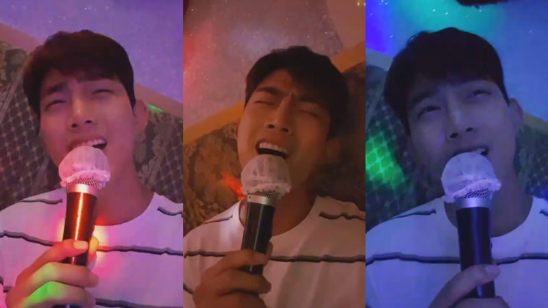Watch: 2PMs Taecyeon Belts Out Jun.K And Baek A Yeons Duet At Karaoke