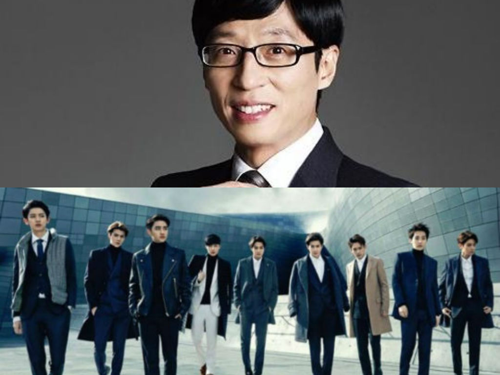 EXO Plans Special Stage With Yoo Jae Suk For Infinite Challenge