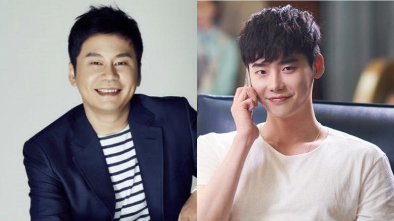 YGs Yang Hyun Suk Personally Manages Lee Jong Suk?