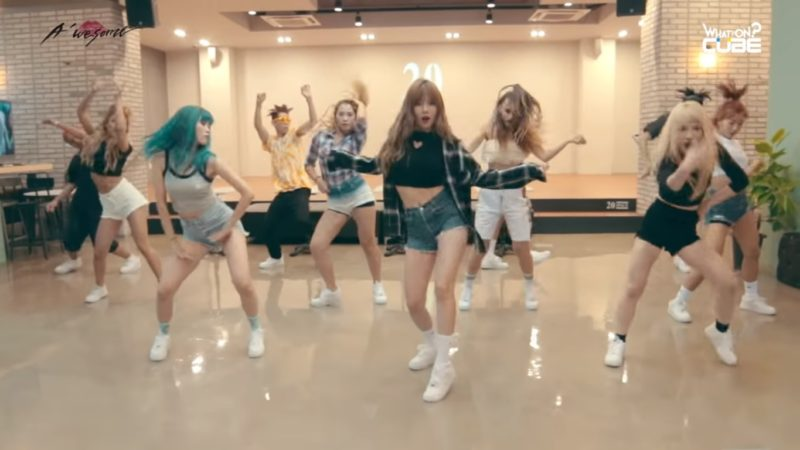 Watch: HyunA Celebrates 1st Win For Hows This? With Dance Practice Video