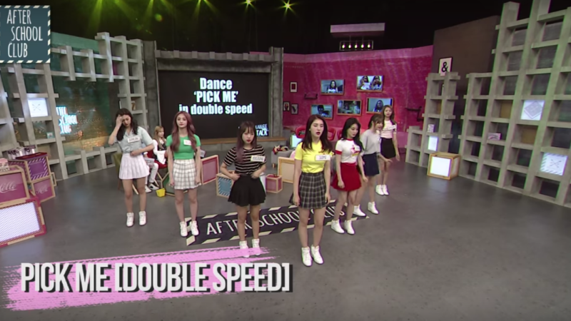 Watch: I.O.I Sub-Unit Gives Flawless Performances Of Pick Me And Whatta Man At 2x Speed