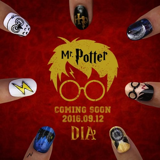 DIA Displays Harry Potter-Themed Comeback Teaser