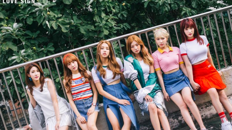 "LABOUM Reveals Teasers For ""Love Sign"" Comeback"