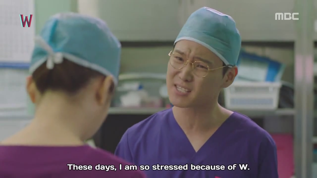 w stressed