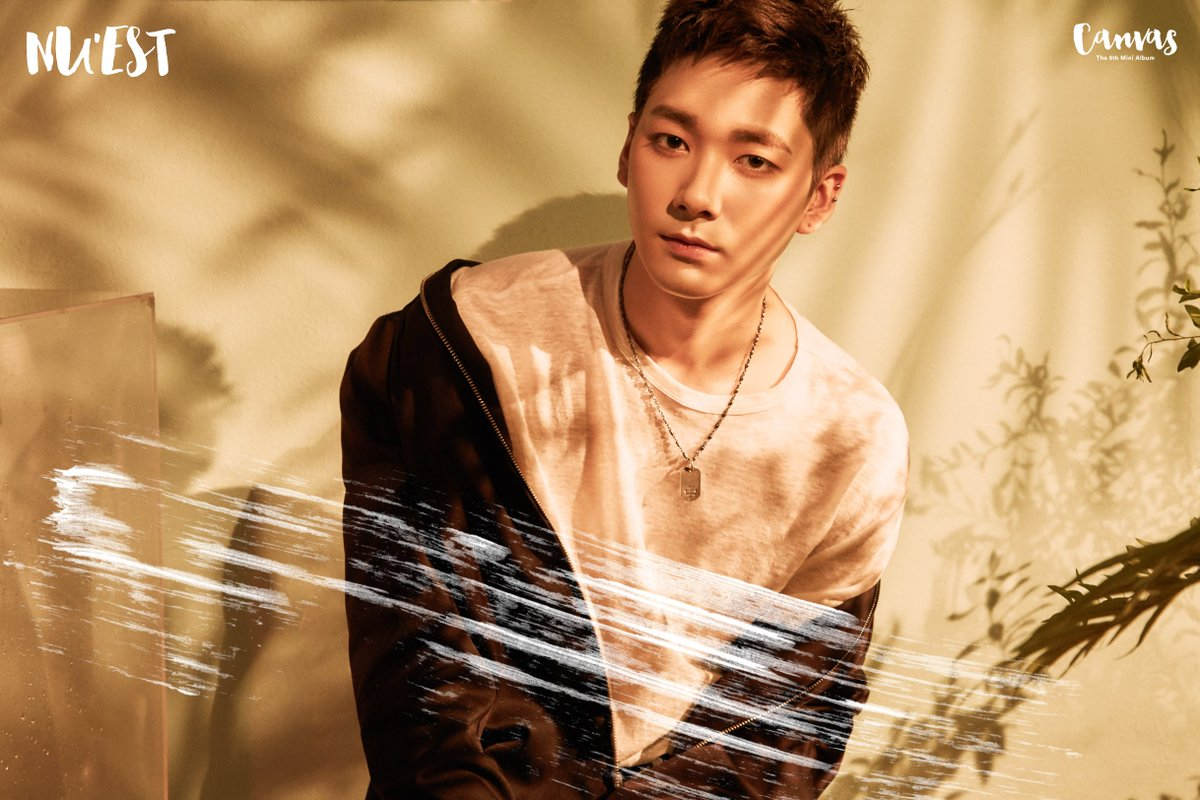 "NU'EST W (Nuest) >> Mini Album ""W,Here"" Aron"