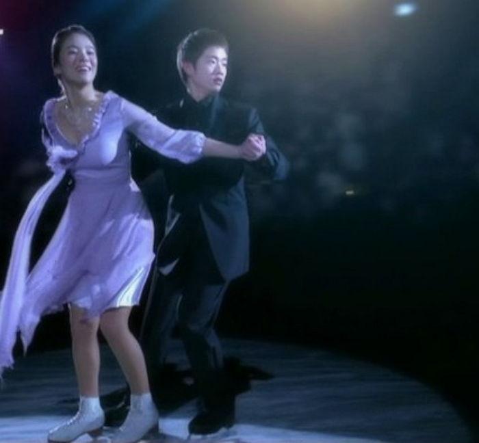 Song Hye Kyo skating