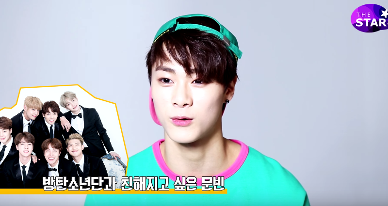Watch: ASTRO's Moonbin Hopes To Become Closer With BTS