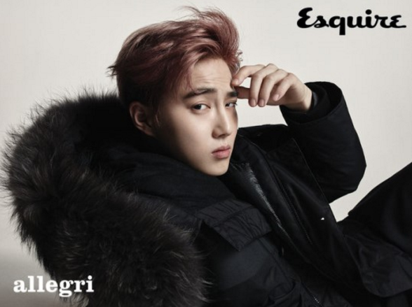 EXO's Suho Looks Mature In Fall Fashion For Esquire