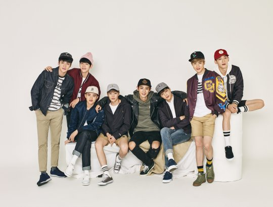 EXO Perfects The Sporty Casual Look For Hats On