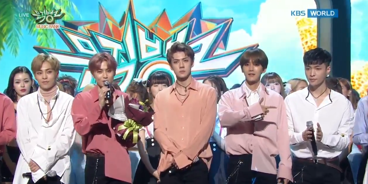 "Watch: EXO Gets 2nd Win For ""Lotto"" On ""Music Bank,"" Performances By VIXX, NCT DREAM, Triple T, And More"
