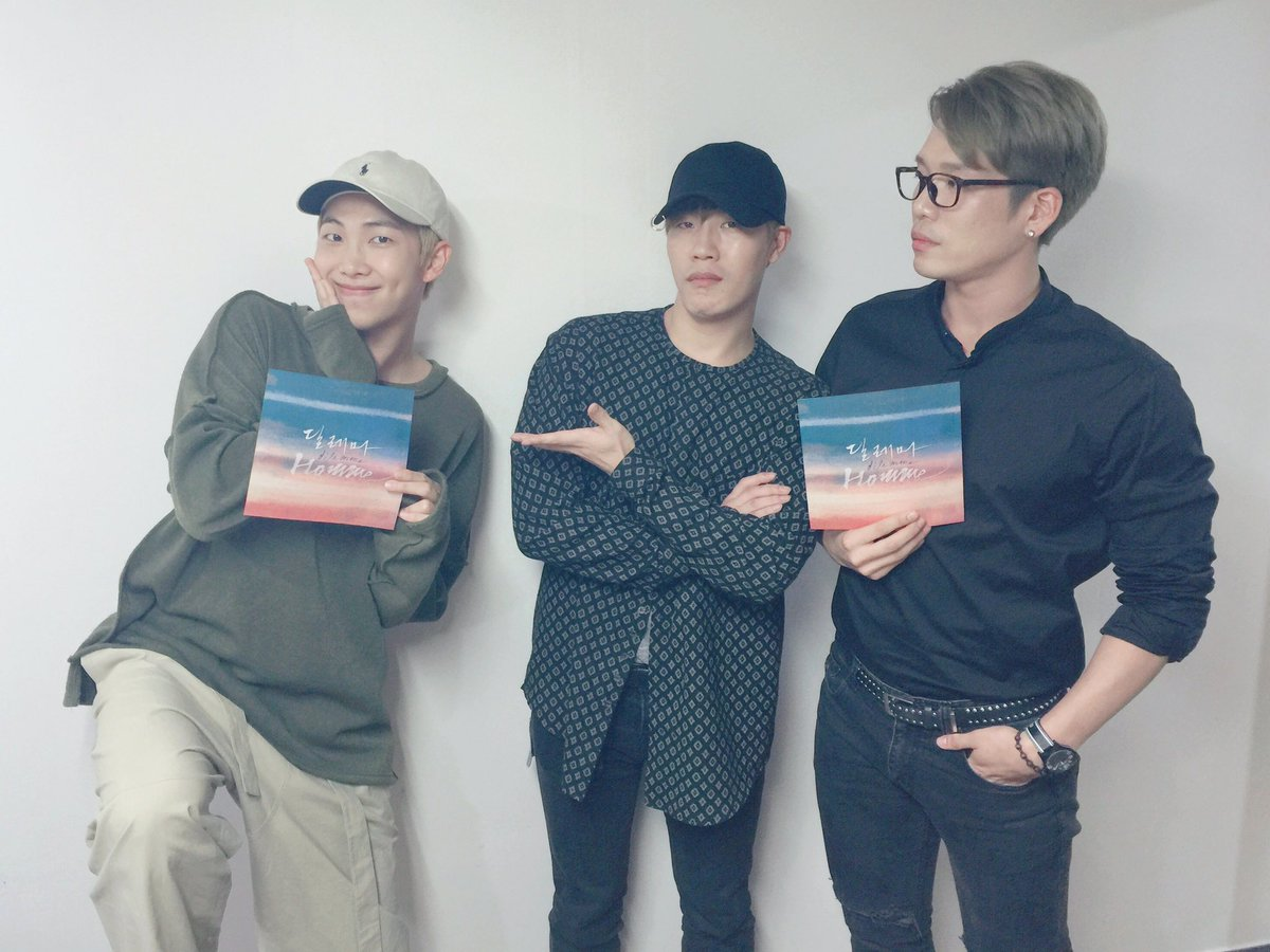 BTS's Rap Monster Shows His Support And Aegyo As Co-Producer For Homme's New Single