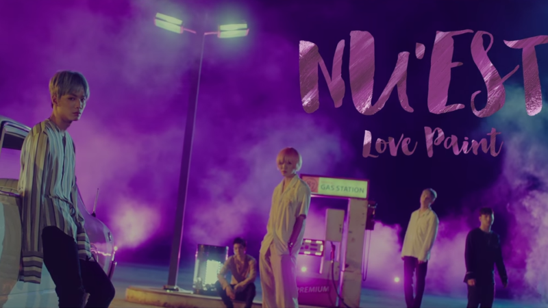 "Watch: NU'EST Is Art Personified In ""Love Paint (Every Afternoon)"" MV"