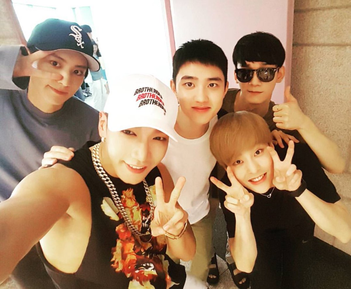 2PM's Jun.K Thanks EXO's D.O. For His Unexpected And Kind Gesture