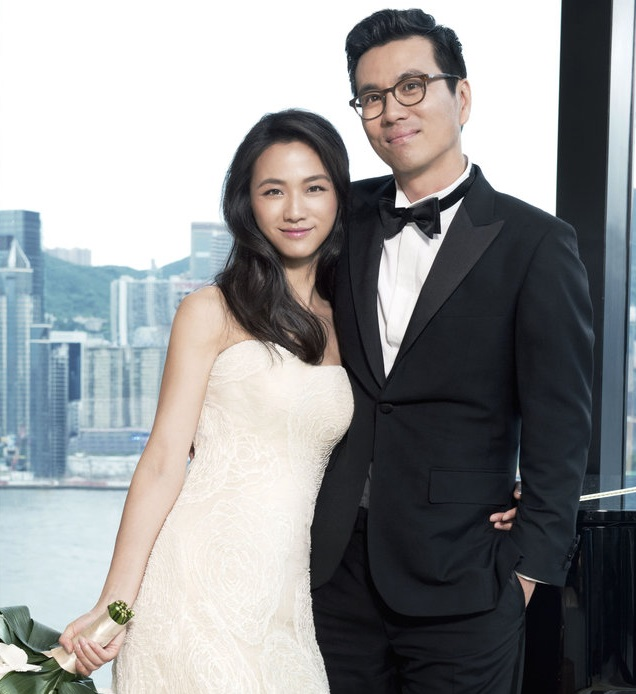 ... has given birth to her daughter with husband director Kim Tae Yong