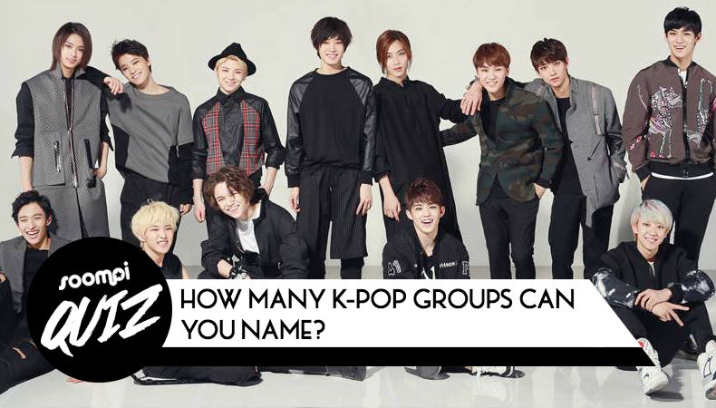 k pop groups