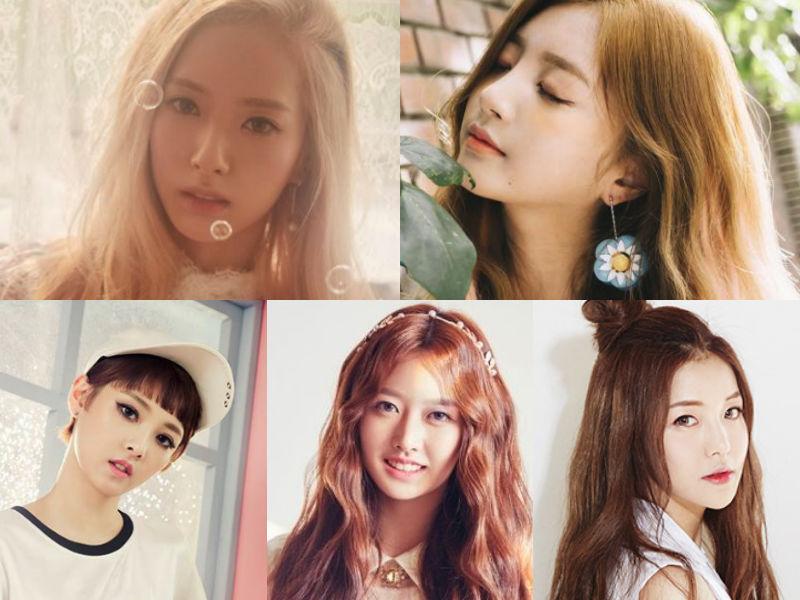Bona Haein New Sun Mimi Yujeong