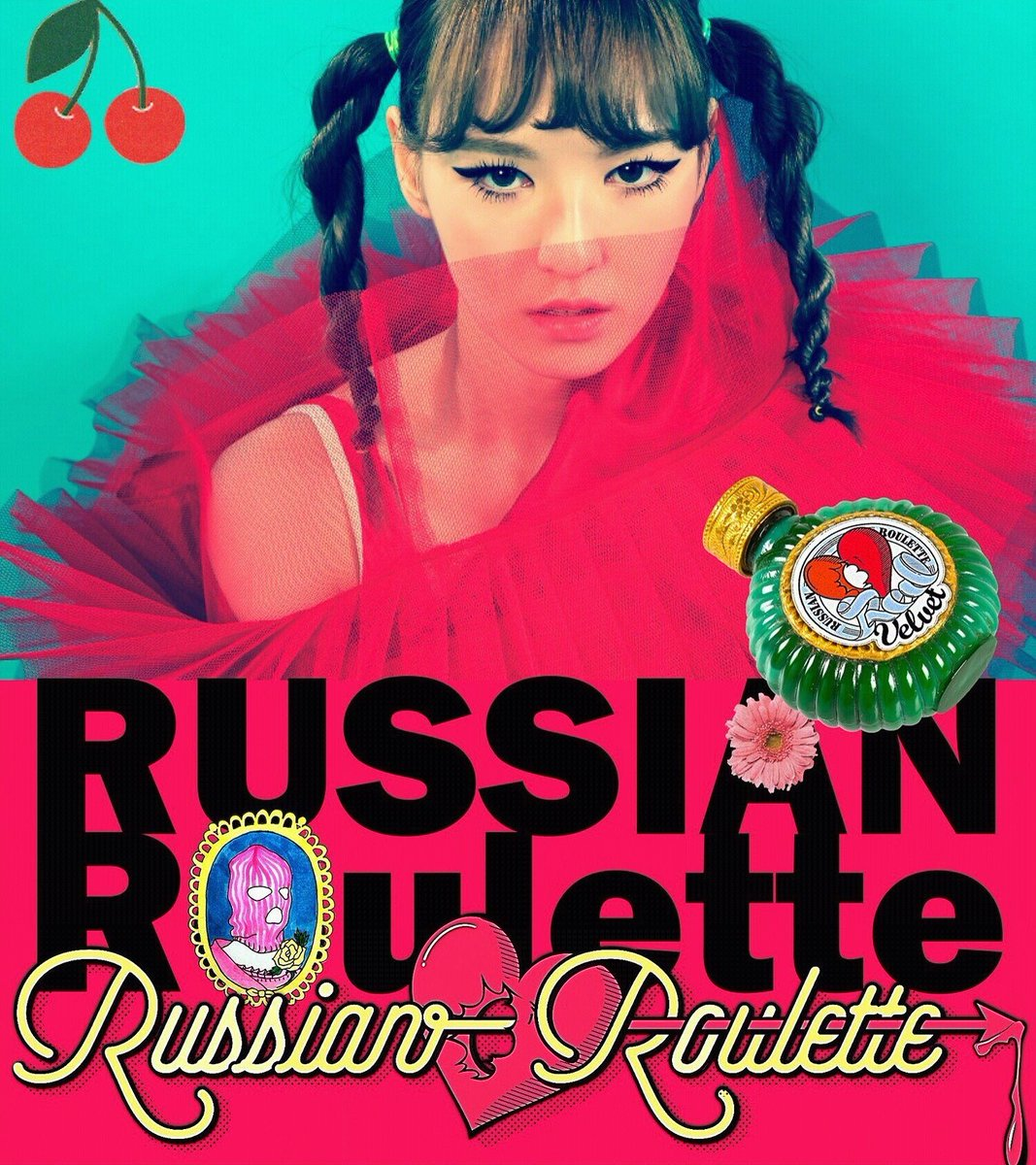 Red velvet russian roulette album