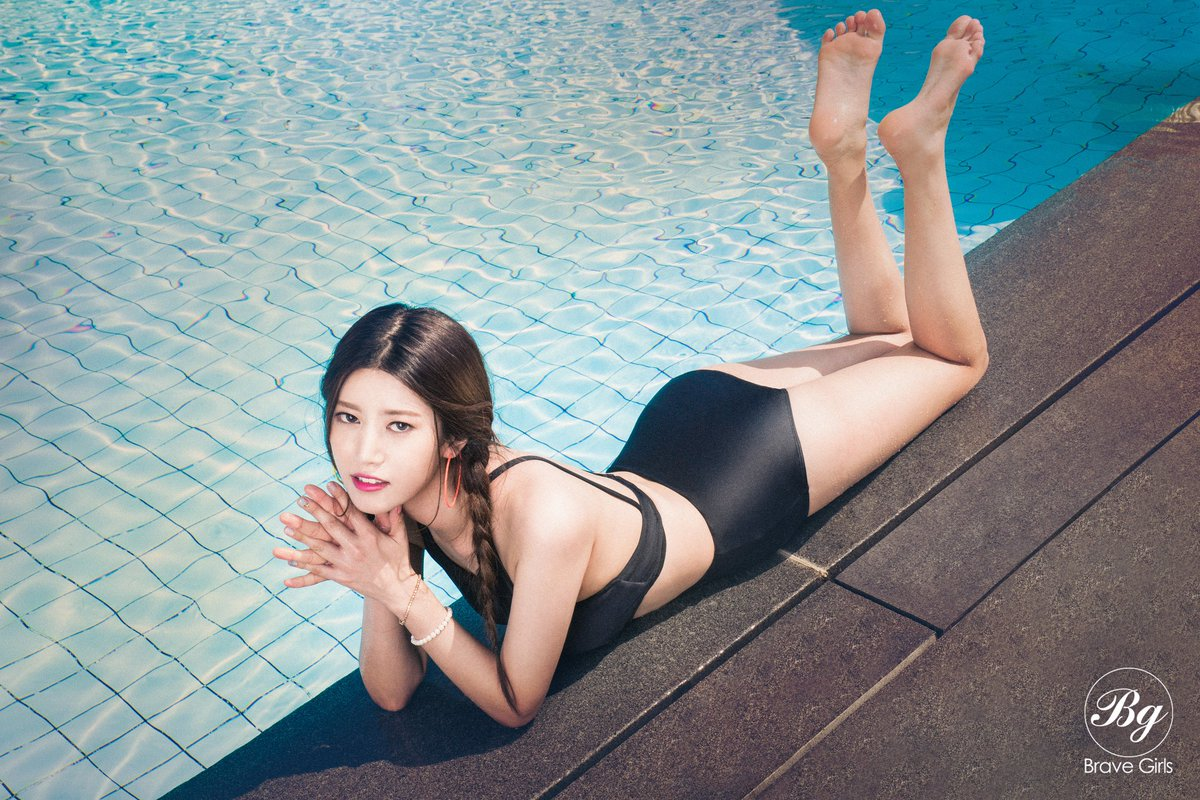 Brave Girls Isn't Ready For Summer To Be Over In Swimsuit Image Teasers For Digital Single