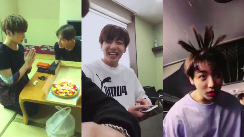 Watch: BTS Celebrates Jungkook's Birthday With Party And Funny Video Spam On Twitter
