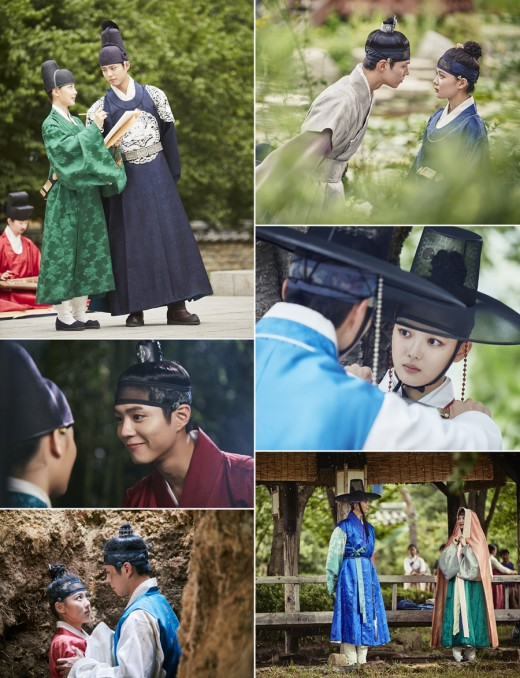 Park Bo Gum And Kim Yoo Jung Are All About The Eye Contact
