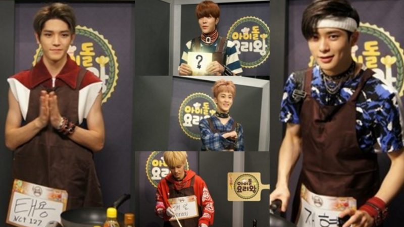 """NCT 127 And Hello Venus Cook Up A Storm For """"Idol Chef King"""""""