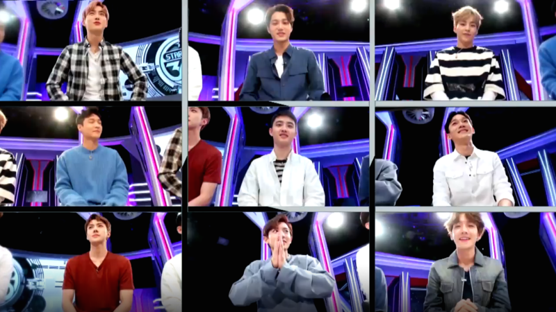 """Watch: EXO Can't Stop Laughing In Preview For """"Star Show 360""""; Individual Teasers To Come"""