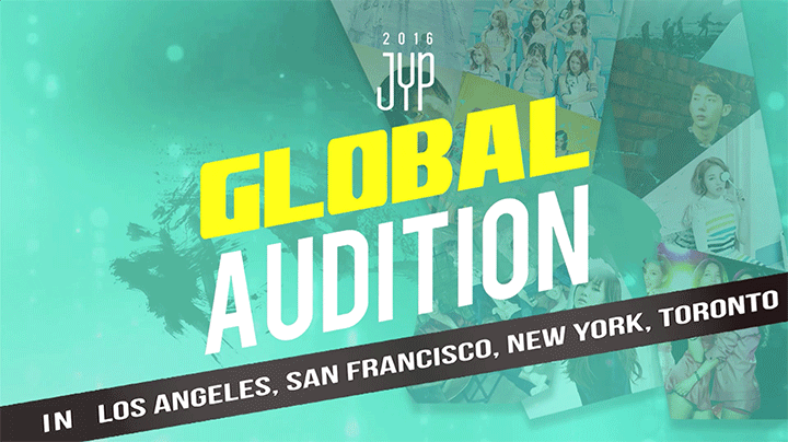JYP Entertainment's Global Auditions Coming To A City Near You