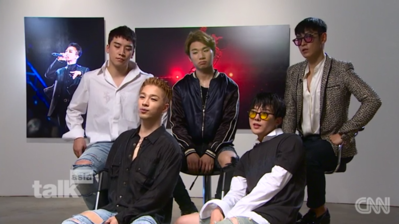 """BIGBANG's Interview With CNN: """"We're Happiest When The 5 Of Us Are Together"""""""
