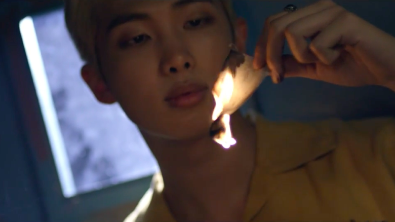 "Watch: BTS Releases New Mesmerizing ""WINGS"" Short Film, Starring Rap Monster"