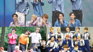 EXO BTS SEVENTEEN