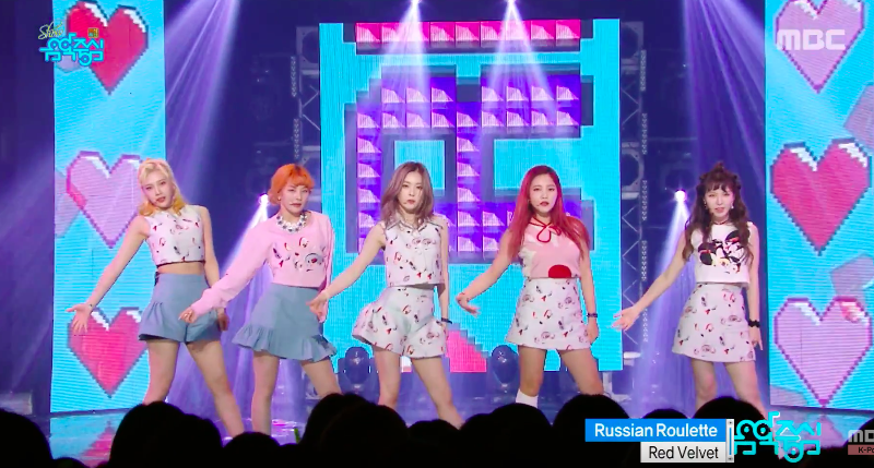 """Watch: """"Music Core"""" Chuseok Special Featuring Performances From Red Velvet, SEVENTEEN, Lovelyz, And More"""