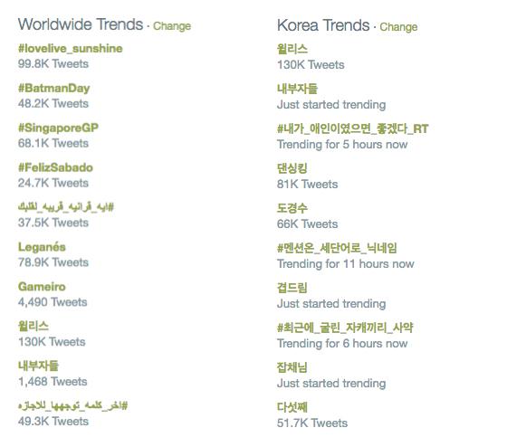 september 17 trends
