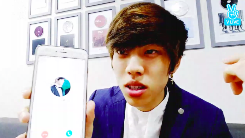 Sasaeng Attempts To Call INFINITE's Dongwoo During Live Show
