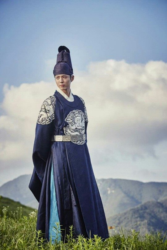 moonlight drawn by clouds park bo gum hanbok